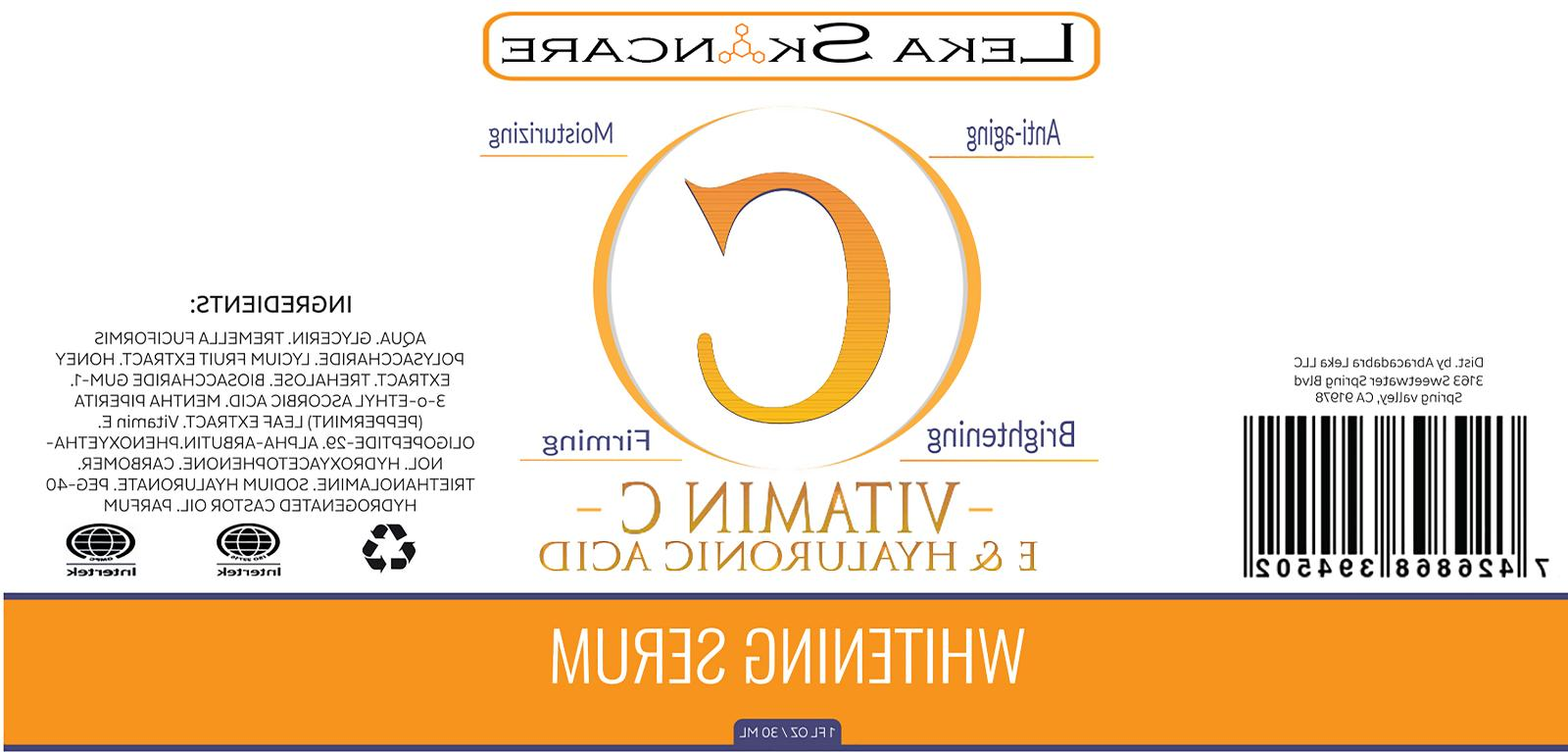 Pure Vitamin Acid Whithening Serum for 30