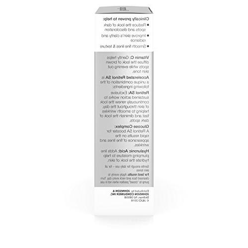 Neutrogena Rapid Daily Facial with Retinol, Vitamin C, Acid Sunscreen to Reduce the Look and Even 1 oz