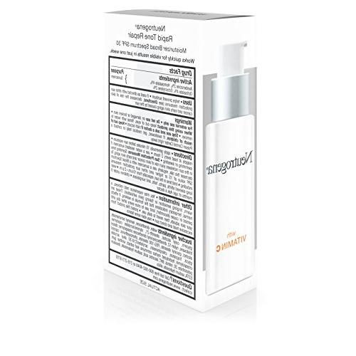 Neutrogena Daily Facial Retinol, Acid and SPF 30 Sunscreen to Reduce Look Dark and 1