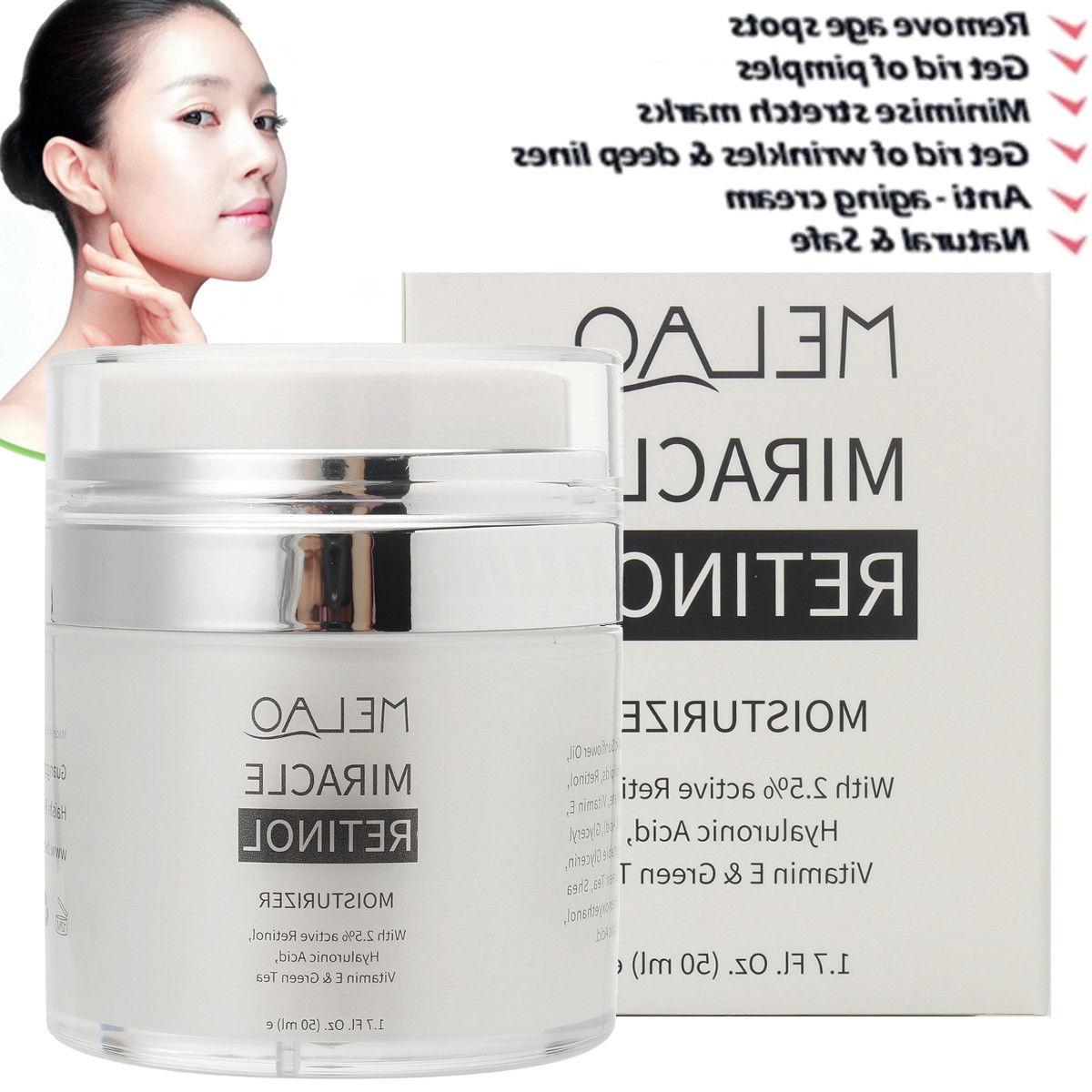 Retinol Face Serum Anti Wrinkles Vitamin E