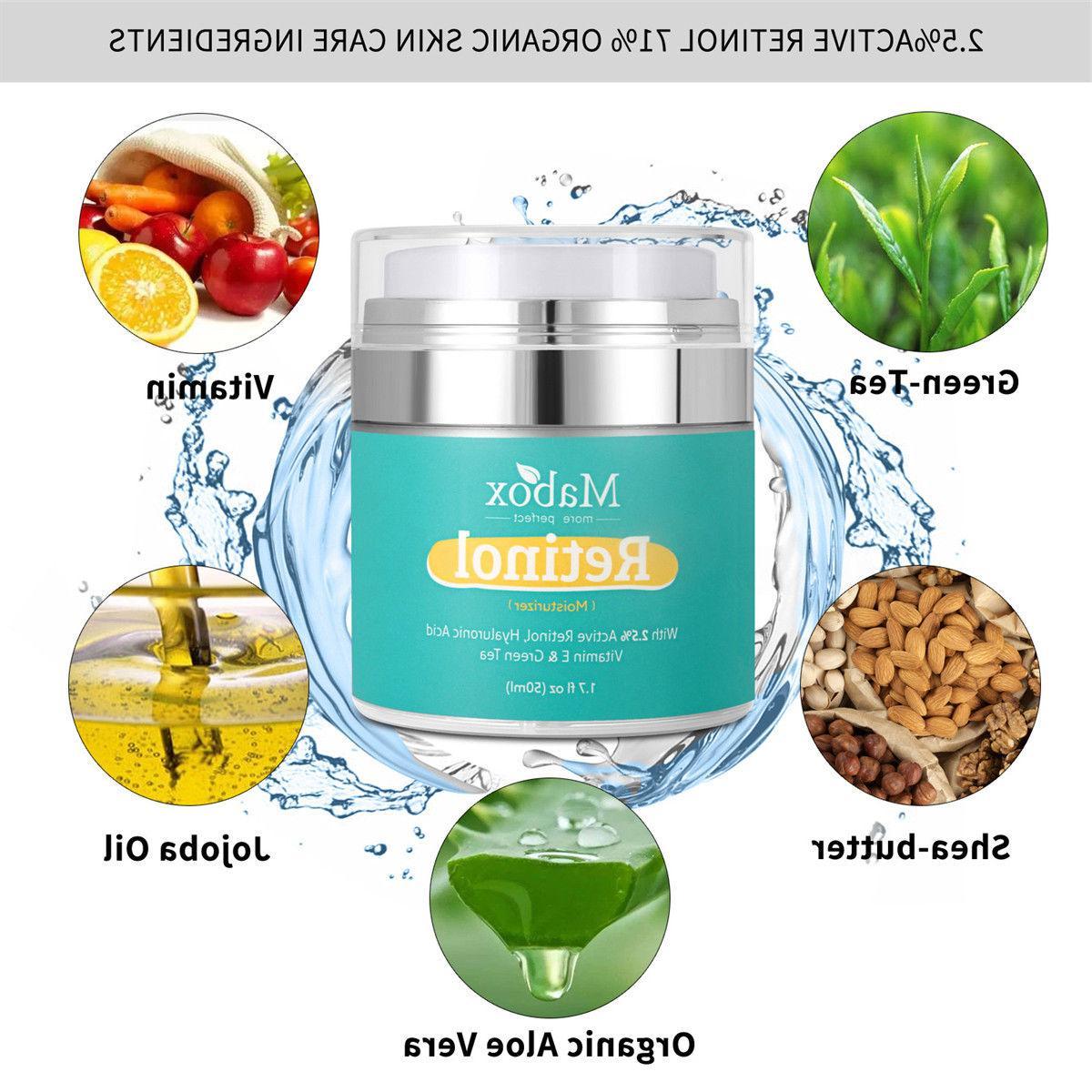 Retinol 2.5% Serum Anti Wrinkles E