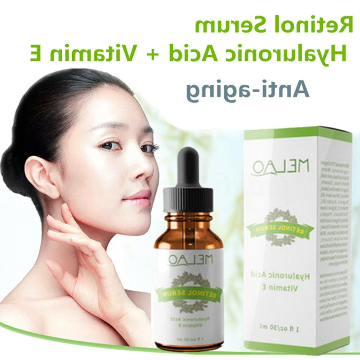 Retinol Serum Wrinkles Hyaluronic E