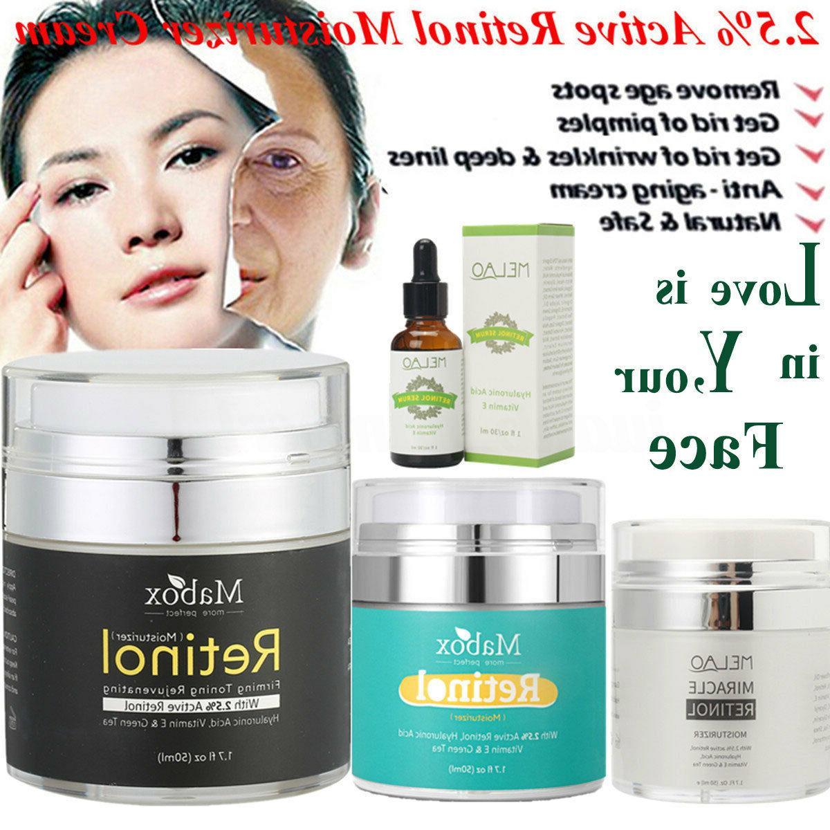 retinol 2 5 percent face cream serum