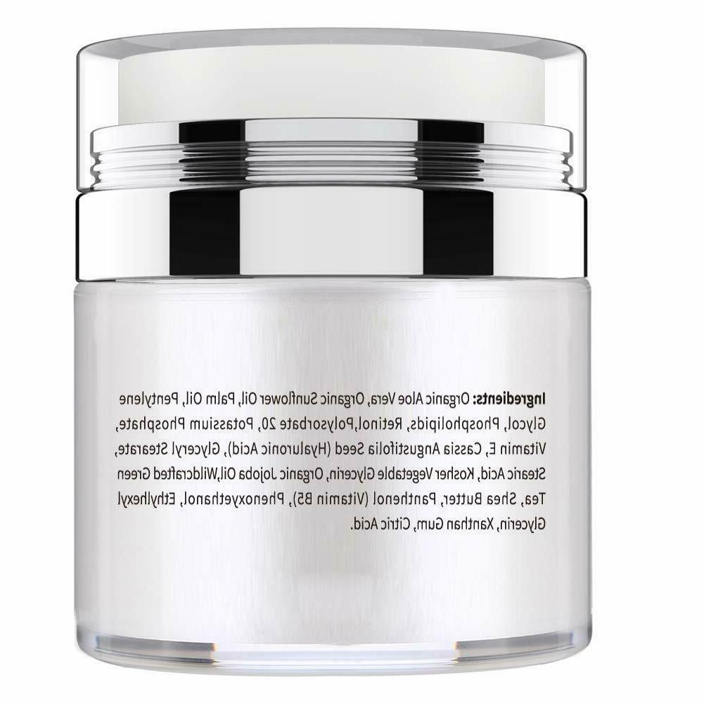 Retinol Cream Serum Face Aging Wrinkle Hyaluronic