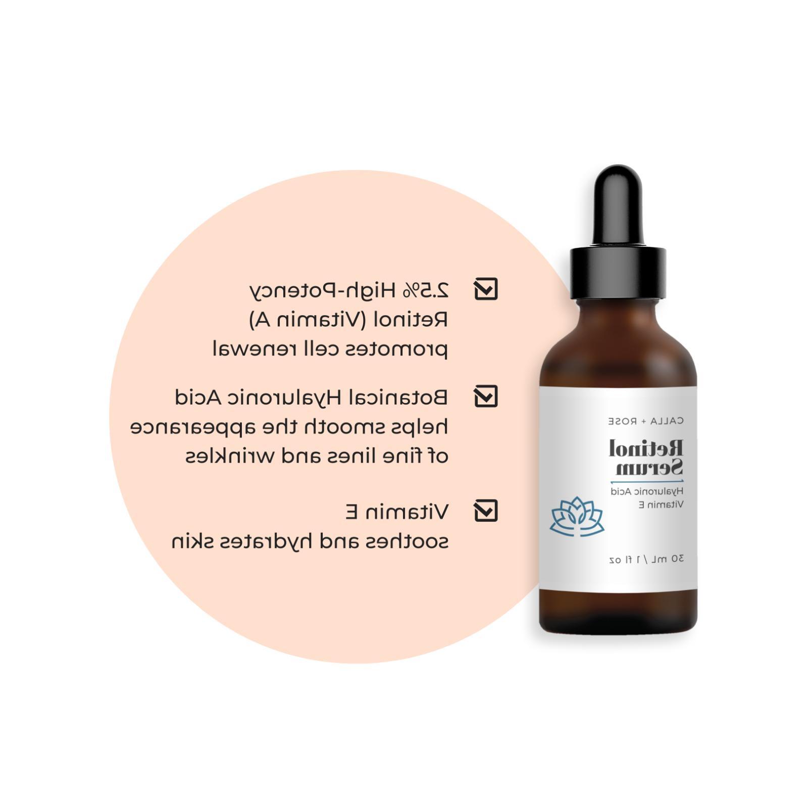 Retinol + Acid Face Anti-Wrinkle/Aging Retinal Cream