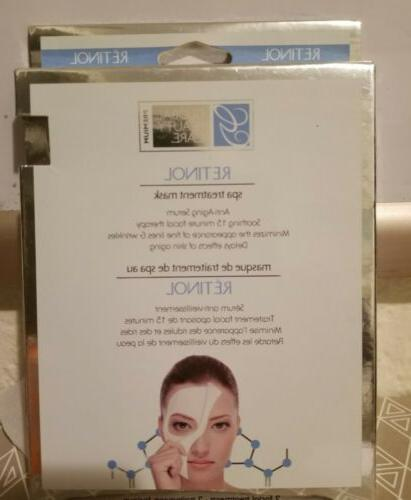 retinol spa treatment mask anti aging serum