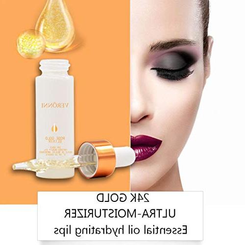 Rose Gold Elixir, Oil Essence Lip Face, Paste Cosmetics, Make Glossy Makeup, 0.5