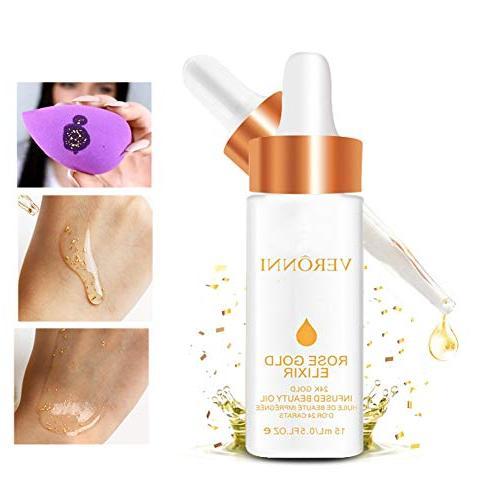 rose gold elixir moisturizing oil