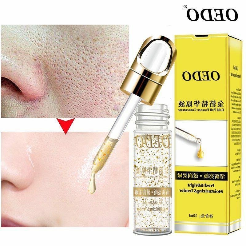shrink pores gold hyaluronic acid liquid moisturizing