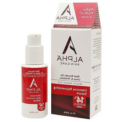 Alpha Rejuvenating Serum 14% Glycolic AHA oz
