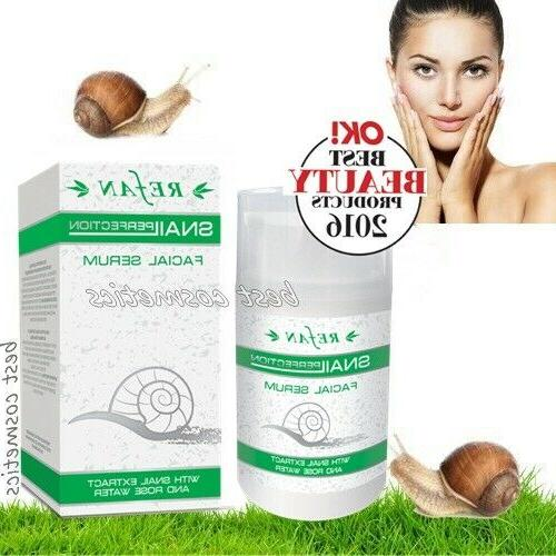 snail perfection extract face serum rose water
