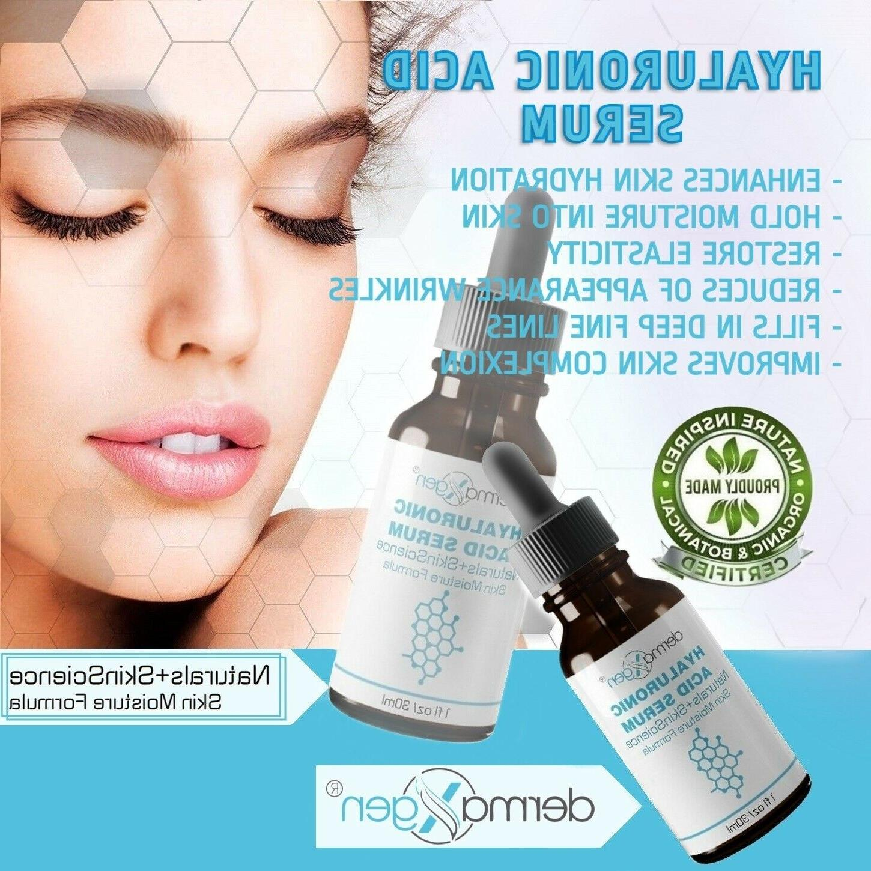 dermaXgen® PURE Hyaluronic Acid Serum Aging