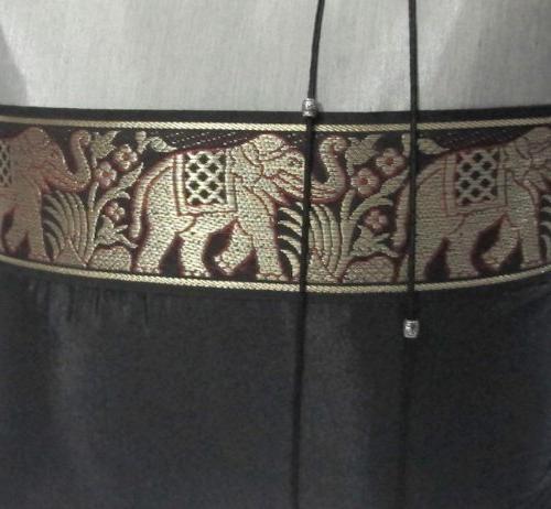 2 Beautiful Thai Silk Cushion, Pillowcover Handmade