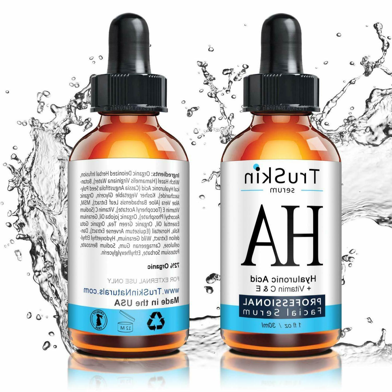 The Hyaluronic Serum Skin Face-Vitamin E, Organic Jojoba