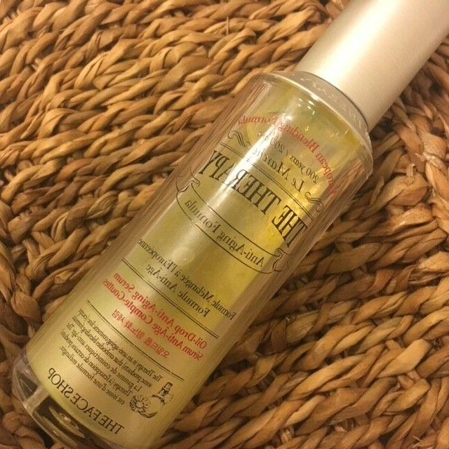 The Face Therapy Oil Drop Aging Serum