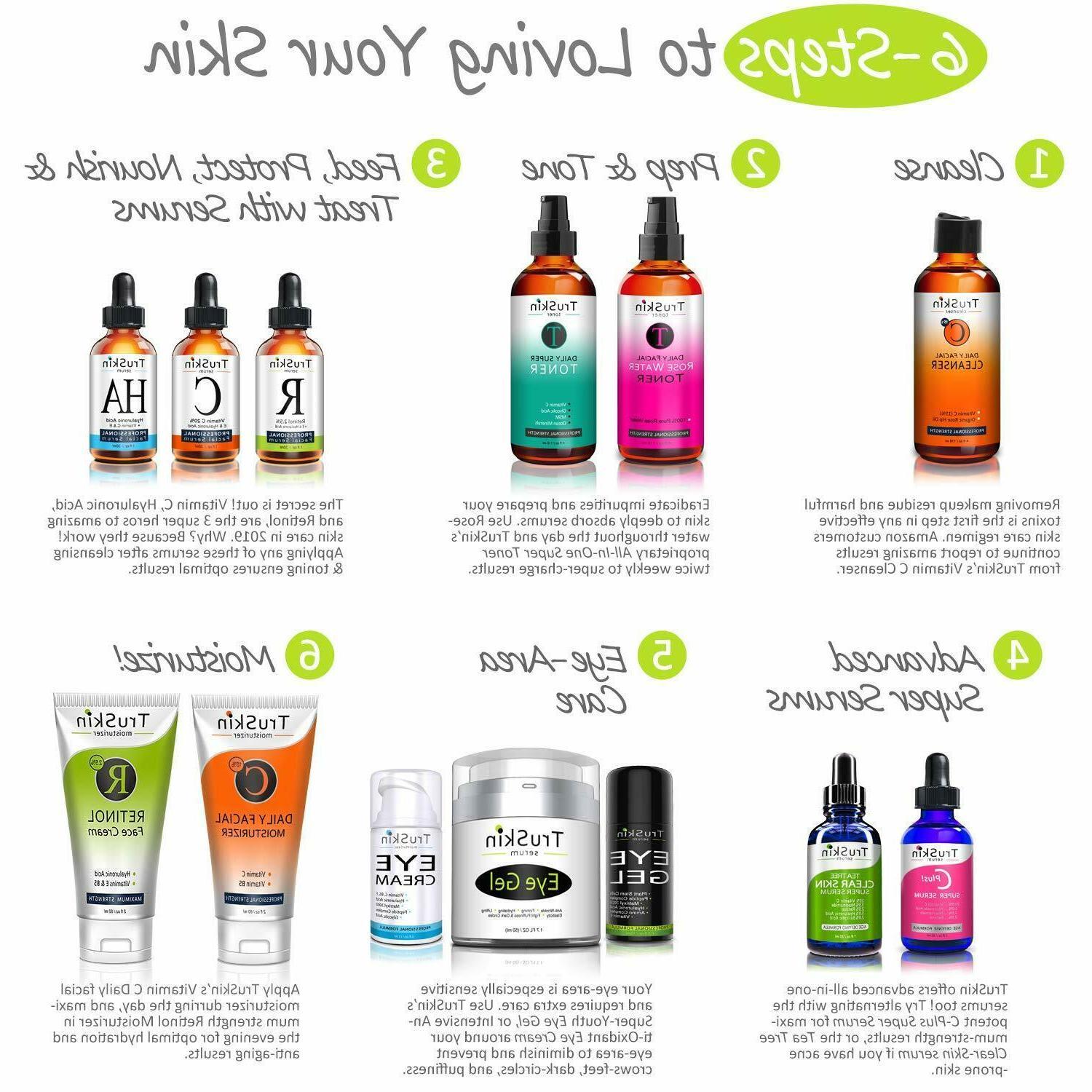 TruSkin Vitamin for Face, Serum with