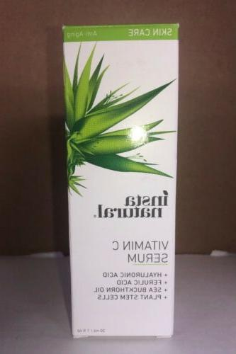 InstaNatural Vitamin C 25 Serum For Face With Hyaluronic Aci