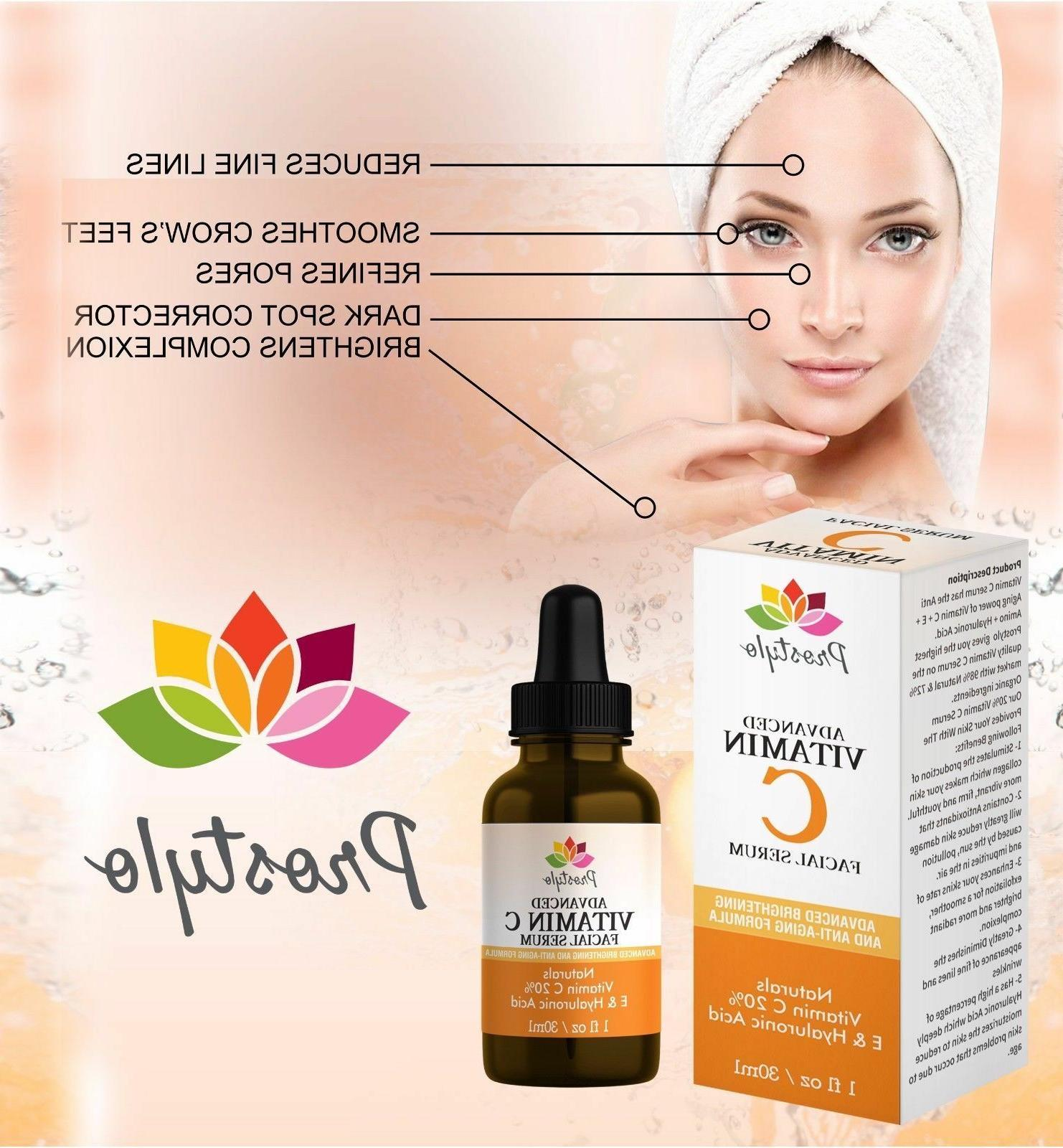 Hyaluronic Face,20%Brightening Anti-Wrinkle