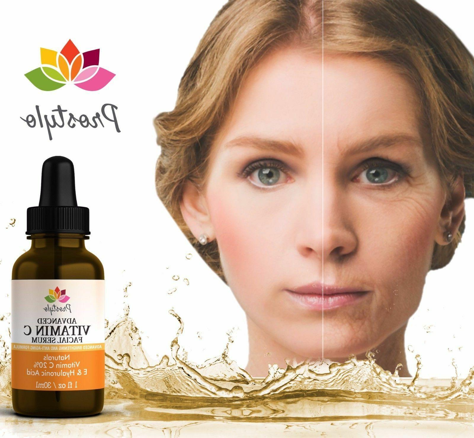 Vitamin Serum Hyaluronic Face,20%Brightening Anti-Wrinkle