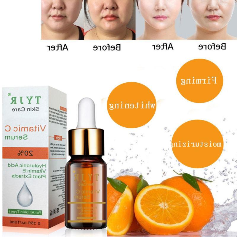 vitamin c face serum hyaluronic acid whitening