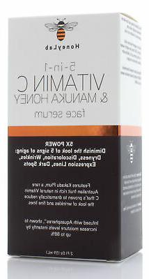 HoneyLab 1 Vitamin C Manuka Honey Face Serum Fl