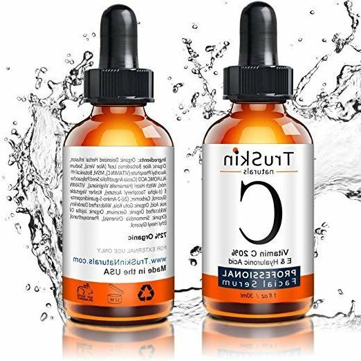 Vitamin C Serum Face Organic Facial Serum Hyaluronic Acid