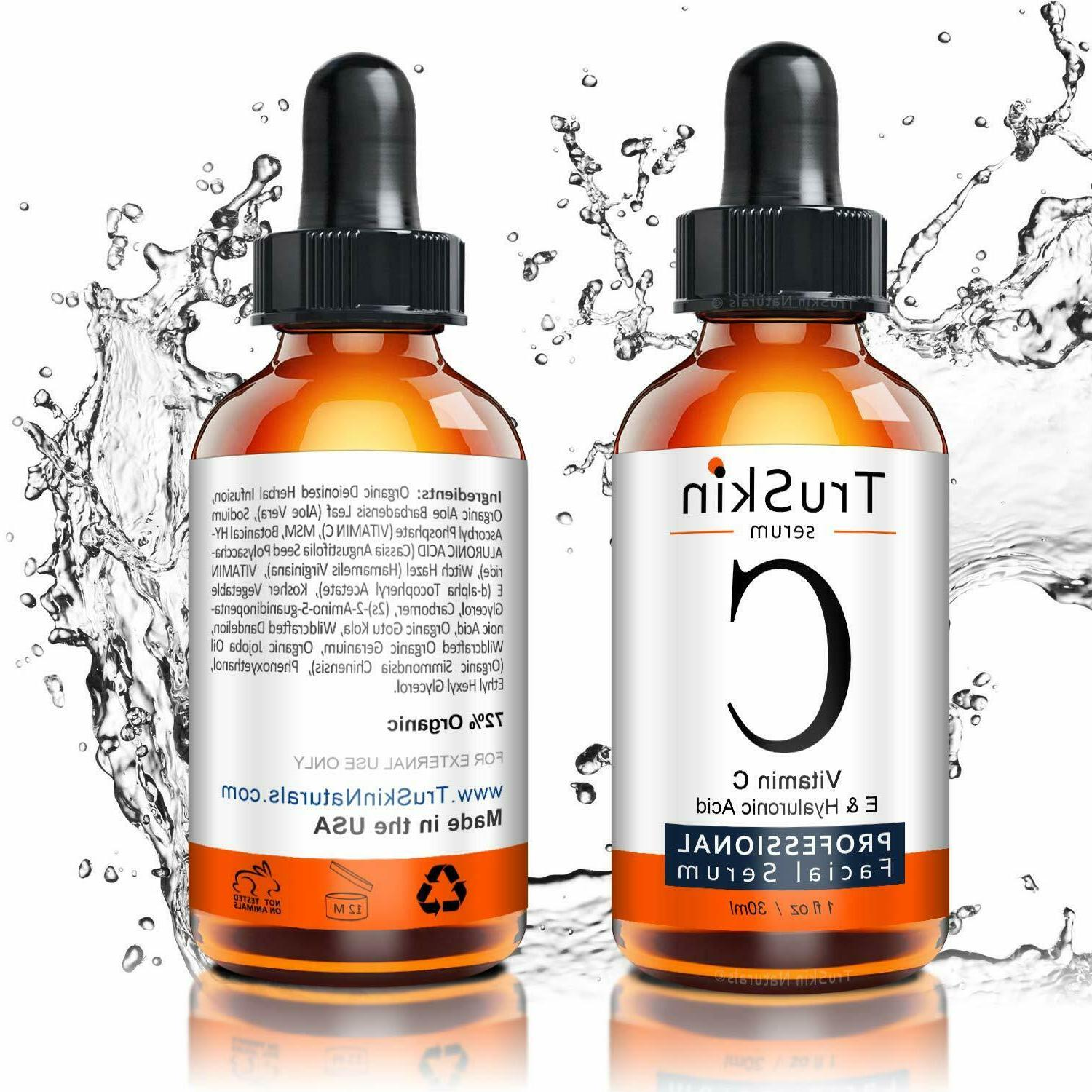 vitamin c serum for face with hyaluronic