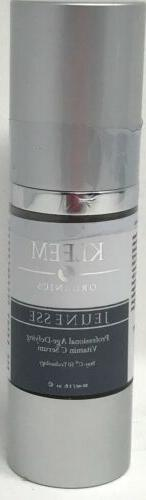 Kleem Vitamin C Serum with Hyaluronic Acid for Face and Eyes
