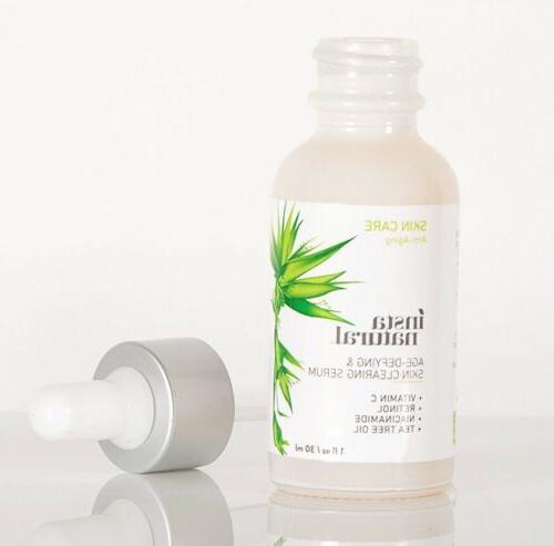 InstaNatural Vitamin C Skin Clearing | Acne Spots