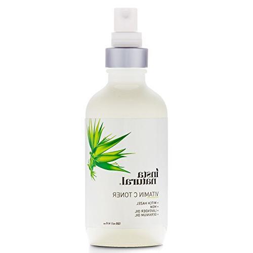 Toner Face Spray Hazel Minimizer & Calming for Dry Combination Types - Prep for Serums - oz