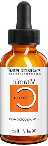 Majestic Pure Vitamin Serum - Aging Skin Brightening Facial Serum for Neck with fl. oz.