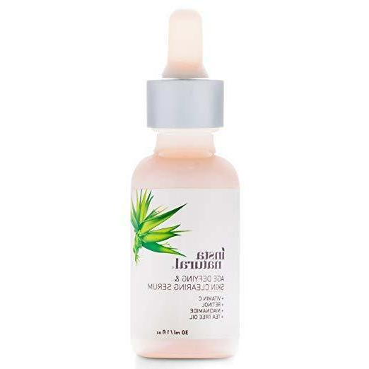 InstaNatural Wrinkle Serum Salicylic Organic