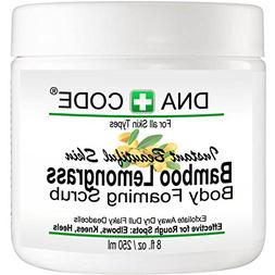 Magic Bamboo Lemongrass Body Foaming Scrub Cleanser Polish,