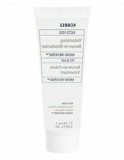 meno reverse volumizing serum in moisturizer post