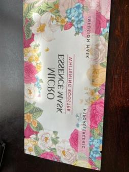 micro essence mask whitening booster skin treatment