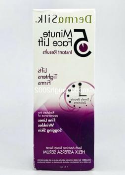 New Dermasilk 5 Minute Face Lift Serum 1 fl oz. Lifts Tighte
