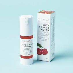 New! Farmacy Very Cherry Bright 15% Clean Vitamin C Serum Fu