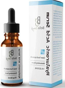 New Vitamin C Serum With Hyaluronic Acid - Best Anti Aging S