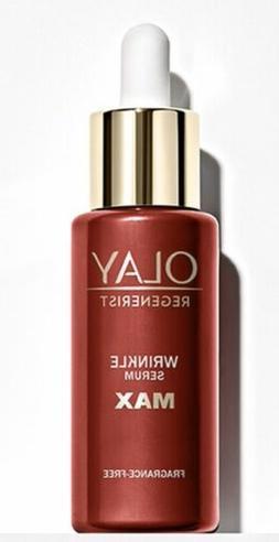 newly released product regenerist wrinkle serum max
