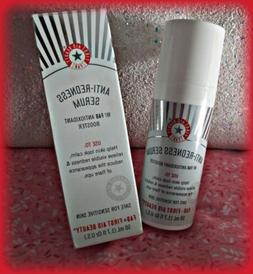 NIB New FAB First Aid Beauty Anti-Redness Serum Full Size 1.