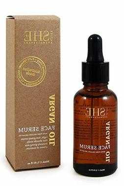 OM SHE AROMATHERAPY ARGAN OIL FACE SERUM 1.01 OZ / 30 ML