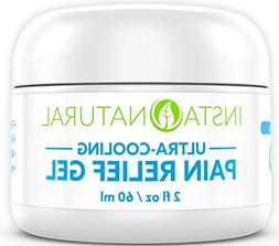 Pain Relief Cream with Menthol and Arnica - Cooling Gel Medi