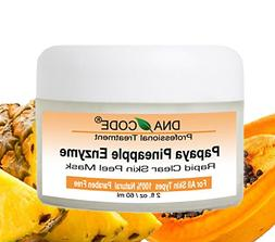 DNA Code-20% Papaya Pineapple Glycolic Enzyme Clear Skin Mas