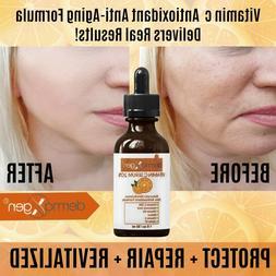 dermaXgen® Pure Vitamin C 20%+ E + Hyaluronic Acid Face Ser