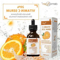 dermaXgen® Pure Vitamin C 20%+ E + Hyaluronic Acid Face Ser