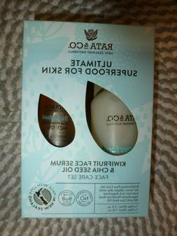 RATA & CO~~KIWI FRUIT FACE SERUM & CHIA SEED OIL FACE CARE S