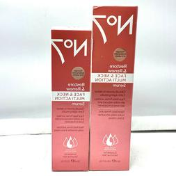 No7 Restore & Renew Face & Neck Multi Action Serum*You Pick*