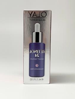 Olay Retinol 24 Night Serum Fragrance Free 1.3 fl. oz.