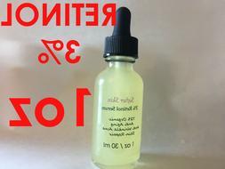 Retinol 3% 1oz Clinical Strength Organic Hyaluronic Acid Pot
