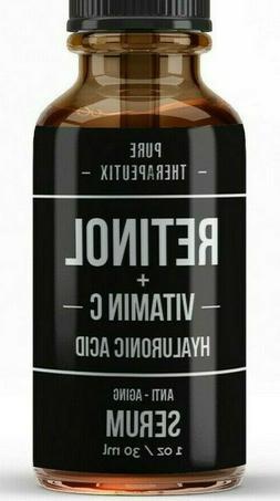 Retinol + Vitamin C & Hyaluronic Acid  Anti-Aging Fine line